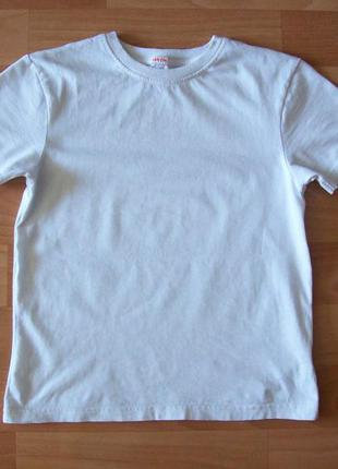 Белая футболка, 7-8 лет