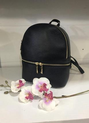 Мини рюкзак кожа италия оригинал