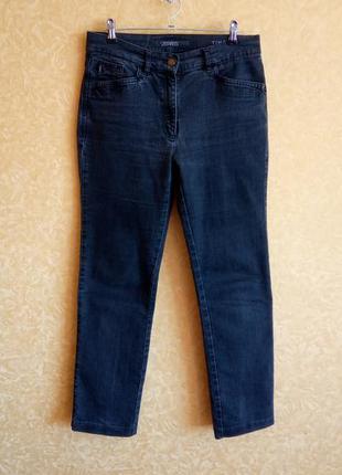 Крутые укороченные джинсы варёнки/высокая талия/скинни/самые н...