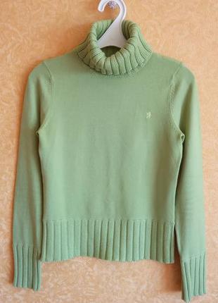 Нежнейший свитер/гольф на резинке/пуловер с горловиной/тотальн...