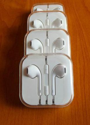 Наушники для iPhone Apple EarPods + скидка