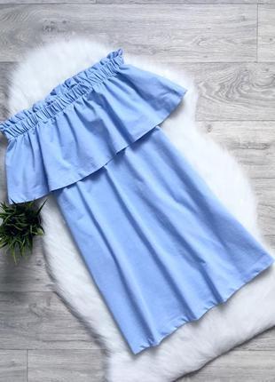 Платье на плечи из плотной ткани