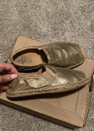 Эспадрильи слипоны preppy мокасины туфли балетки обувь оригинал