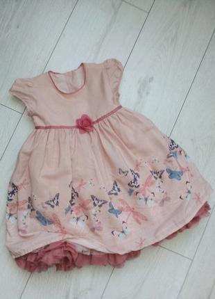 Нежное праздничное платье для принцесы