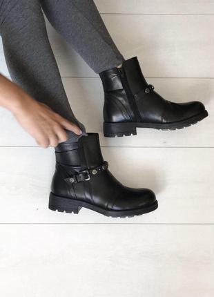 Стильные ботинки италия кожа 37 р