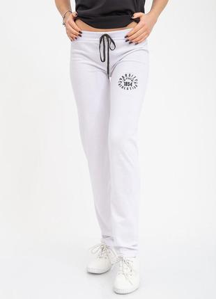 Спортивные брюки женские 103r3134 цвет белый
