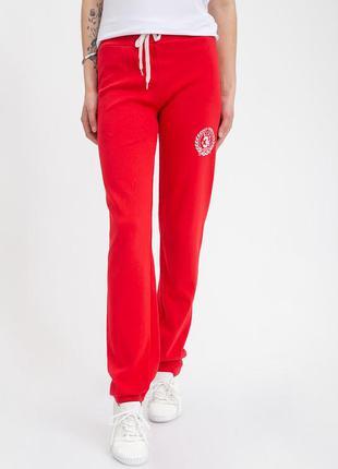 Спортивные брюки женские 103r3136 цвет красный