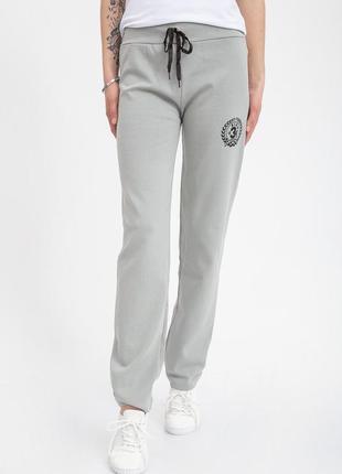 Спортивные брюки женские 103r3136 цвет стальной