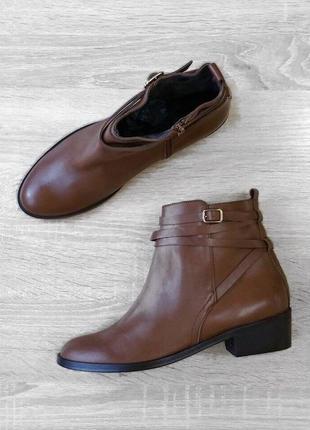 36 38 40 р ботинки andre кожа