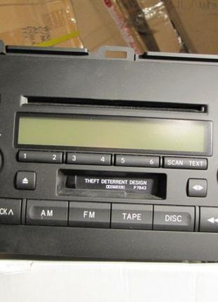 Новая CD аудикомплекс-магнитола на TOYOTA PRADO 120