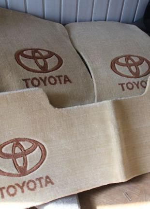 NEW! Оригинальные коврики в салон TOYOTA PRADO, CAMRY фирменные