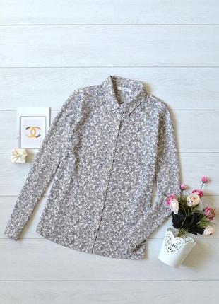 Ніжна блуза в квіти