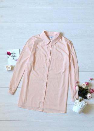 Ніжна пудрова блуза ambria