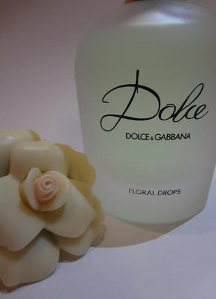Dolce&gabbana dolce floral drops туалетная вода, спрей 75 мл t...