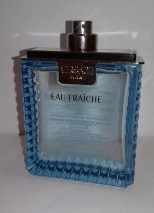 Versace man eau fraiche туалетная вода тестер 100мл без крышечки