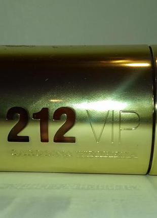 Carolina herrera 212 vip парфюмированная вода 80 ml тестер