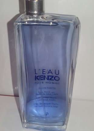 Kenzo l´eau kenzo pour homme туалетная вода тестер без крышечк...