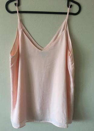 Шифоновая майка блуза