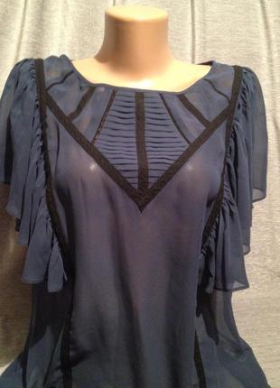 Красивая шифоновая блузочка.0001