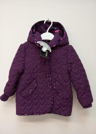 Легкая демисезонная куртка для девочки от georgre.