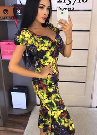 Шикарное платье разные размеры