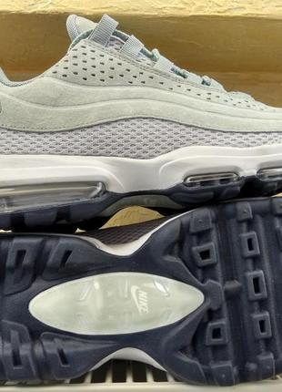 Кроссовки nike air max 95 ultra premium trainers in grey (41р....