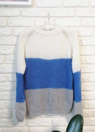 Лёгкий свитер пушинка из итальянского кидмохера