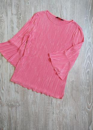 Блузка в плиссировку dorothy perkins  размер 14