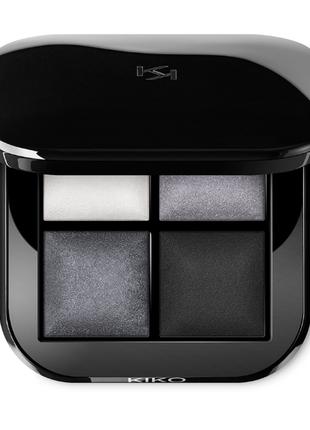 Палетка теней kiko milano bright quartet baked eyeshadow palette