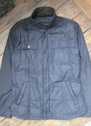 Демисезонная куртка ostin xl-xxl жакет стеганый пиджак