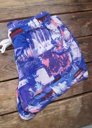 Мягкие легкие шортики h&m из вискозы размер указан 10/s/36 под...