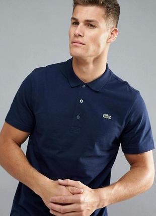 Фирменная футболка поло lacoste