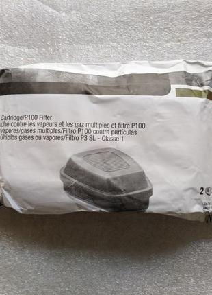 Фильтр респиратор 3М 60926 Multi Gas Vapor P100