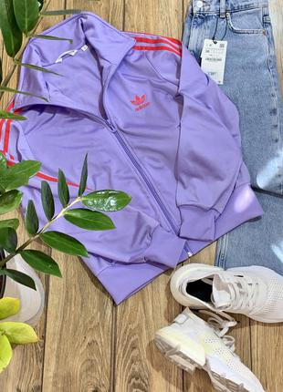 Олимпийка , кофта спортивная на замке adidas оригинал