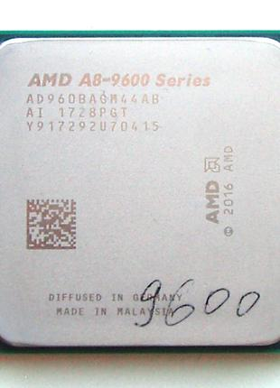 AMD A8-9600 Series - 3.1GHz (3.4) socket AM4