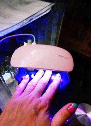 Лампа для гель лака 6W LED UF SUN mini