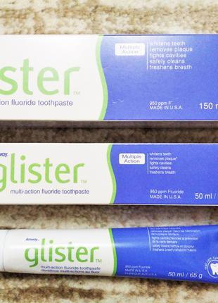 Зубная паста Глистер. США. Не стирает эмаль. 50 мл. 150 мл.