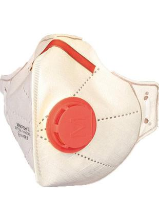 """Респиратор FFP3 с клапаном , зажим, маска  защитная """"Микрон"""""""