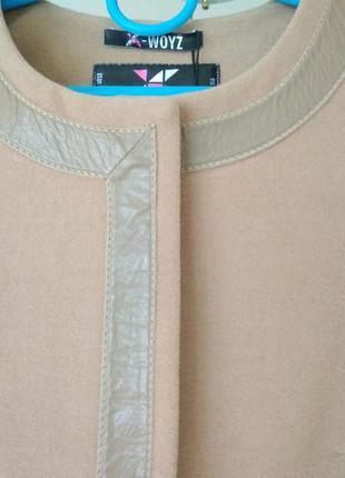 Пальто прамого силуэта р (s) бесплатная доставка