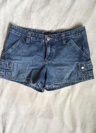 Летние коттоновые шорты, джинсовые шорты