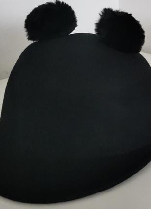 Шапка кепка натуральная шерсть