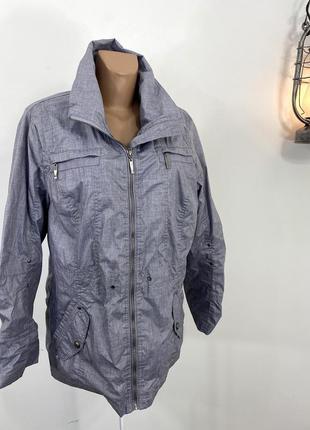 Куртка легкая, стильная district,
