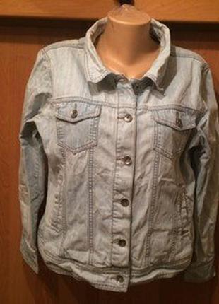 Куртка, пиджак джинсовий р. liv essentional. в ідеалі размер -...