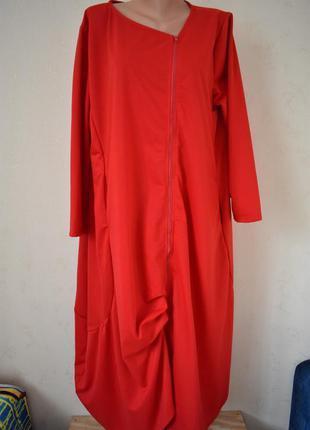 Новое стильное платье большого размера