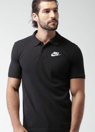 Фирменная футболка поло nike