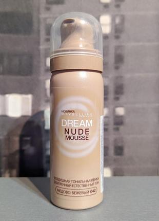Тональный мусс maybelline dream nude mousse 50ml
