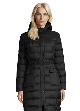 Новый пуховик benetton парка куртка (непромокаемый) длинный с ...
