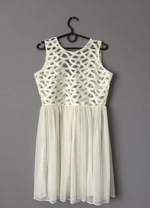 Платье сетка miss selfridge 8--42-44 размер.