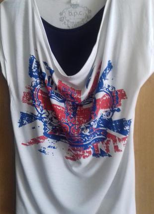 Стильная футболка 2 в 1. b.p.s.