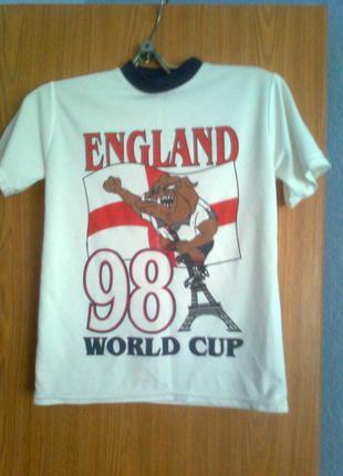 Футболка чемпионат мира по футболу england. 9-10 лет. рост 135...